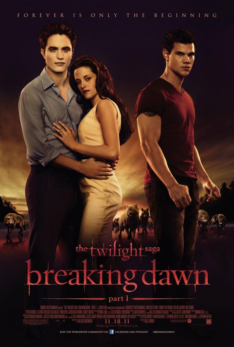 Breaking Dawn Part 1 movie poster