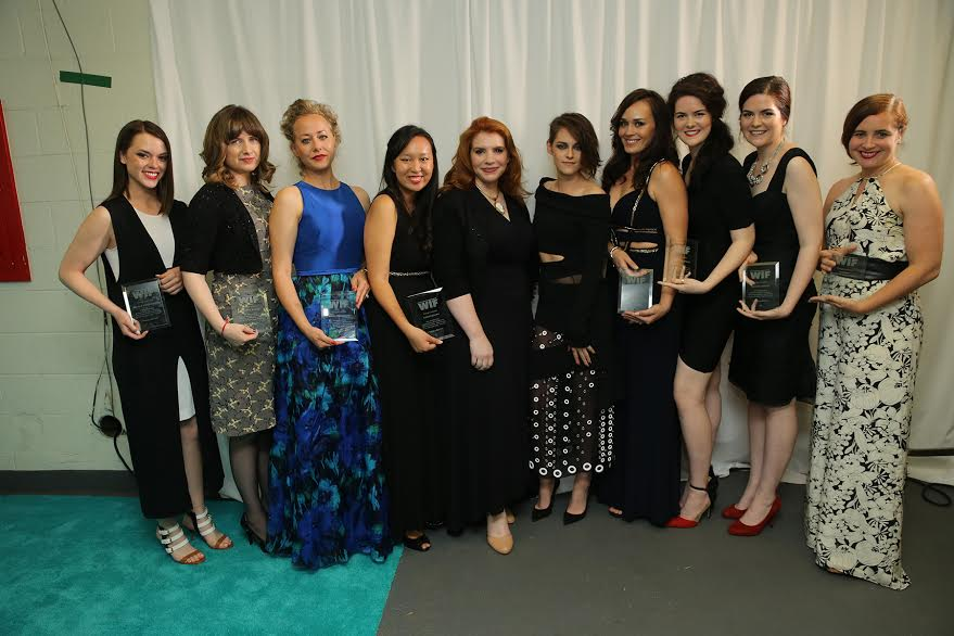twilight stories, attends the Women In Film 2015 Crystal + Lucy Awards Presented by Max Mara, BMW of North America, and Tiffany & Co. at the Hyatt Regency Century Plaza on June 16, 2015 in Century City, California.
