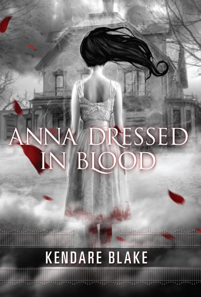 Anna Dress In Blood, book cover