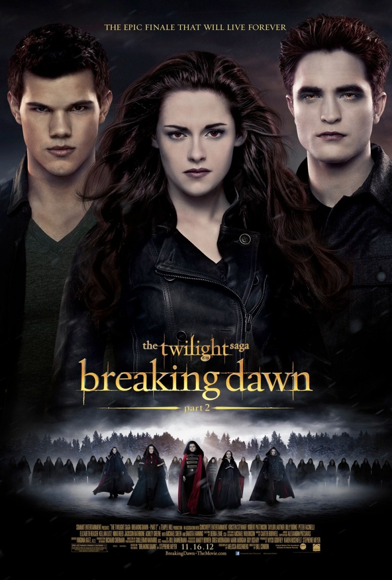 Breaking Dawn Pt. 2 movie poster