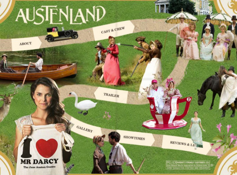 Austenland, official site