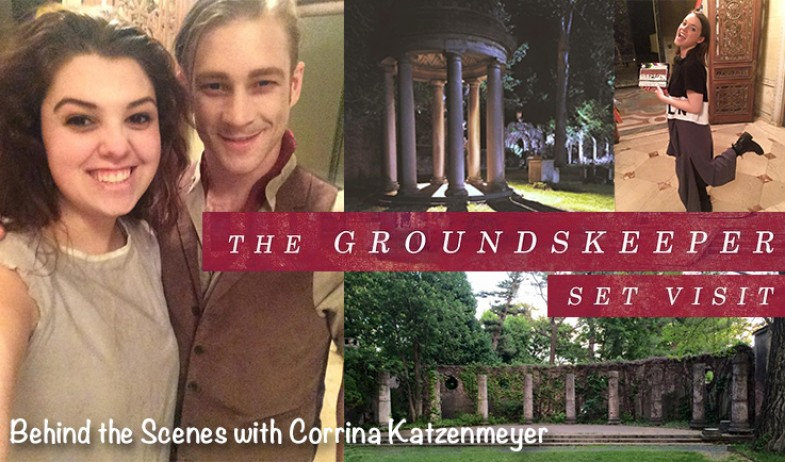 Set visit to THE GROUNDSKEEPER Twilight Short Film