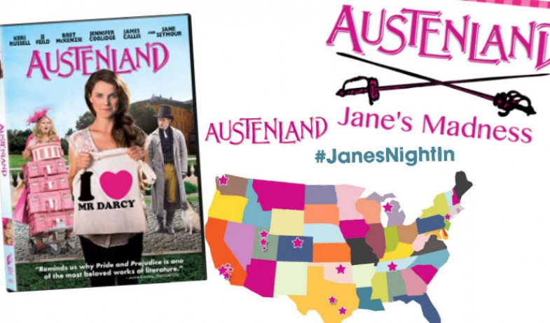 Austenland out on DVD, Blu-Ray and Digital February 11th and we're celebrating!